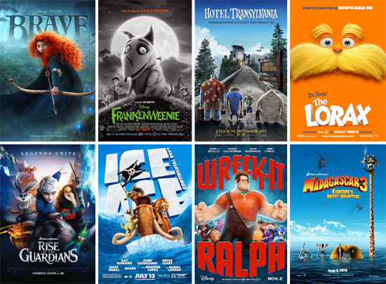 MOVIES – Top Ten Animated Family Movies.